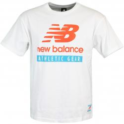 New Balance Essential Field Day Logo T-Shirt weiß