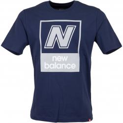 New Balance T-Shirt Essentials N Box dunkelblau