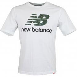 New Balance T-Shirt Essentials Stack Logo weiß/camouflage