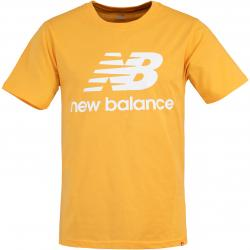 New Balance Essential Stacked Logo T-Shirt gelb