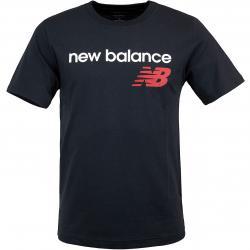 New Balance T-Shirt Heritage schwarz