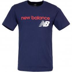New Balance T-Shirt Heritage dunkelblau