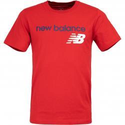 New Balance T-Shirt Heritage rot