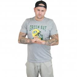 New Era T-Shirt NFL Archie Greenbay Packers grau