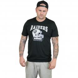 New Era T-Shirt NFL Archie Oakland Raiders schwarz