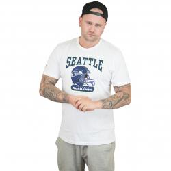 New Era T-Shirt NFL Archie Seattle Seahawks weiß