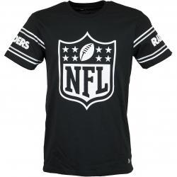 New Era T-Shirt Badge Oakland Raiders schwarz