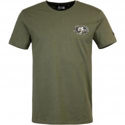 T-Shirt New Era NFL Digi Camo San Francisco 49ers oliv