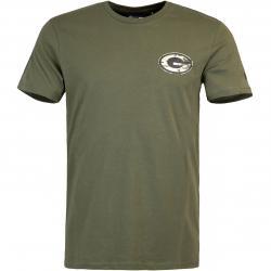 New Era NFL Green Bay Packers Camo T-Shirt olive