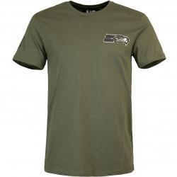 T-Shirt New Era NFL Digi Camo Seattle Seahawks oliv