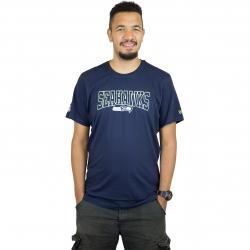 New Era T-Shirt NFL Script Seattle Seahawks dunkelblau