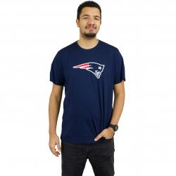 New Era T-Shirt Team Logo New England Patriots dunkelblau
