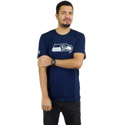 New Era T-Shirt Team Logo Seattle Seahawks dunkelblau