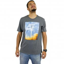 Nike T-Shirt Air dunkelgrau