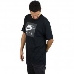 Nike T-Shirt Air schwarz/weiß