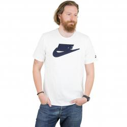 Nike T-Shirt Archive 1 weiß/dunkelblau