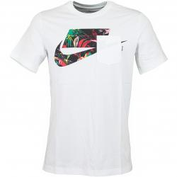 Nike T-Shirt Block weiß/multi