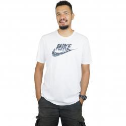Nike T-Shirt Camo 2 weiß/grau
