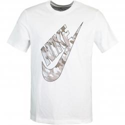 Nike Club Camo T-Shirt weiß