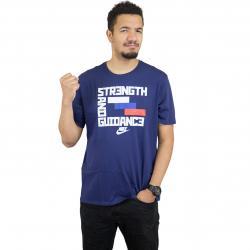 Nike T-Shirt Concept Blue 4 blau/weiß