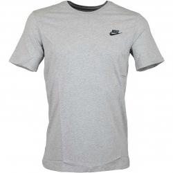 Nike T-Shirt Embroidered Futura grau