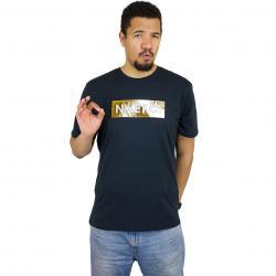 Nike T-Shirt FC schwarz/gold