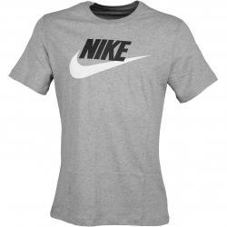 Nike T-Shirt Futura Icon grau/weiß