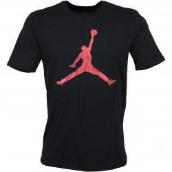 Nike T-Shirt Jordan Iconic Jumpman schwarz