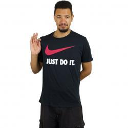 Nike T-Shirt New JDI Swoosh schwarz/rot