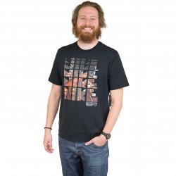 Nike T-Shirt  Photo Tokyo schwarz