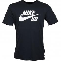 Nike T-Shirt SB Logo schwarz/weiß