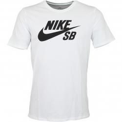 Nike T-Shirt SB Logo weiß/schwarz