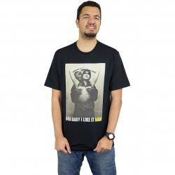 Pelle Pelle T-Shirt Shimmy Shimmy schwarz