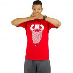 Pelle Pelle T-Shirt Stick Up rot