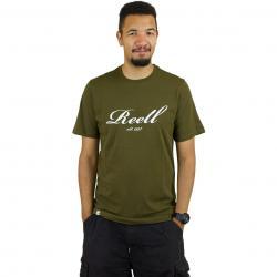 Reell T-Shirt Big Script oliv