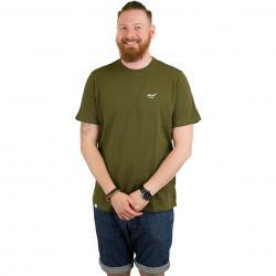 Reell T-Shirt Small Script oliv