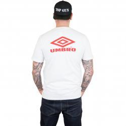 Umbro T-Shirt Classico Logo weiß