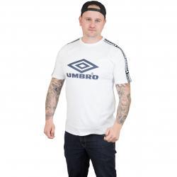 Umbro T-Shirt Taped weiß