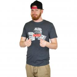 Mister Tee T-Shirt C.R.E.A.M. dunkelgrau