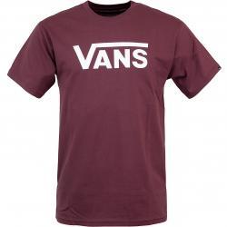 Vans T-Shirt Classic weinrot