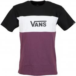 Vans T-Shirt Retro Active weinrot/weiß/schwarz