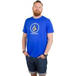 Volcom T-Shirt Circle Stone true blue