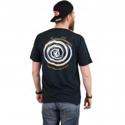 Volcom T-Shirt Comes Around schwarz