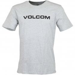 Volcom T-Shirt Crisp Euro hellgrau