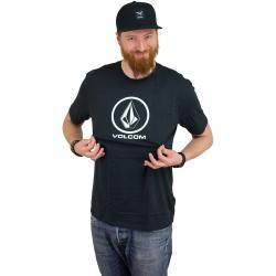 Volcom T-Shirt Crisp schwarz