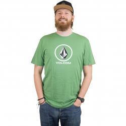 Volcom T-Shirt Crisp Stone dark kelly