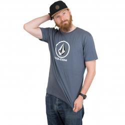 Volcom T-Shirt Crisp Stone midnight blue