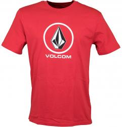 Volcom T-Shirt Crisp Stone true red