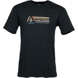 Volcom T-Shirt Descent schwarz