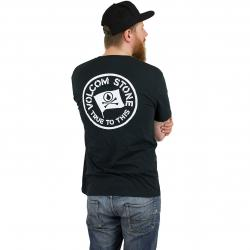 Volcom T-Shirt Flag schwarz